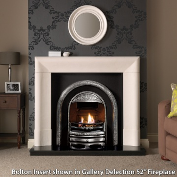 Gallery Bolton Cast Iron Fireplace Insert Flames Co Uk